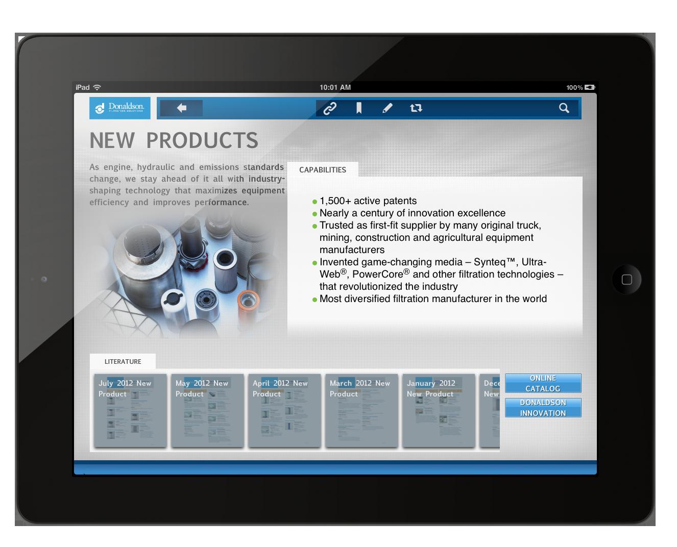 Donaldson Parts Catalog : Donaldson object partners