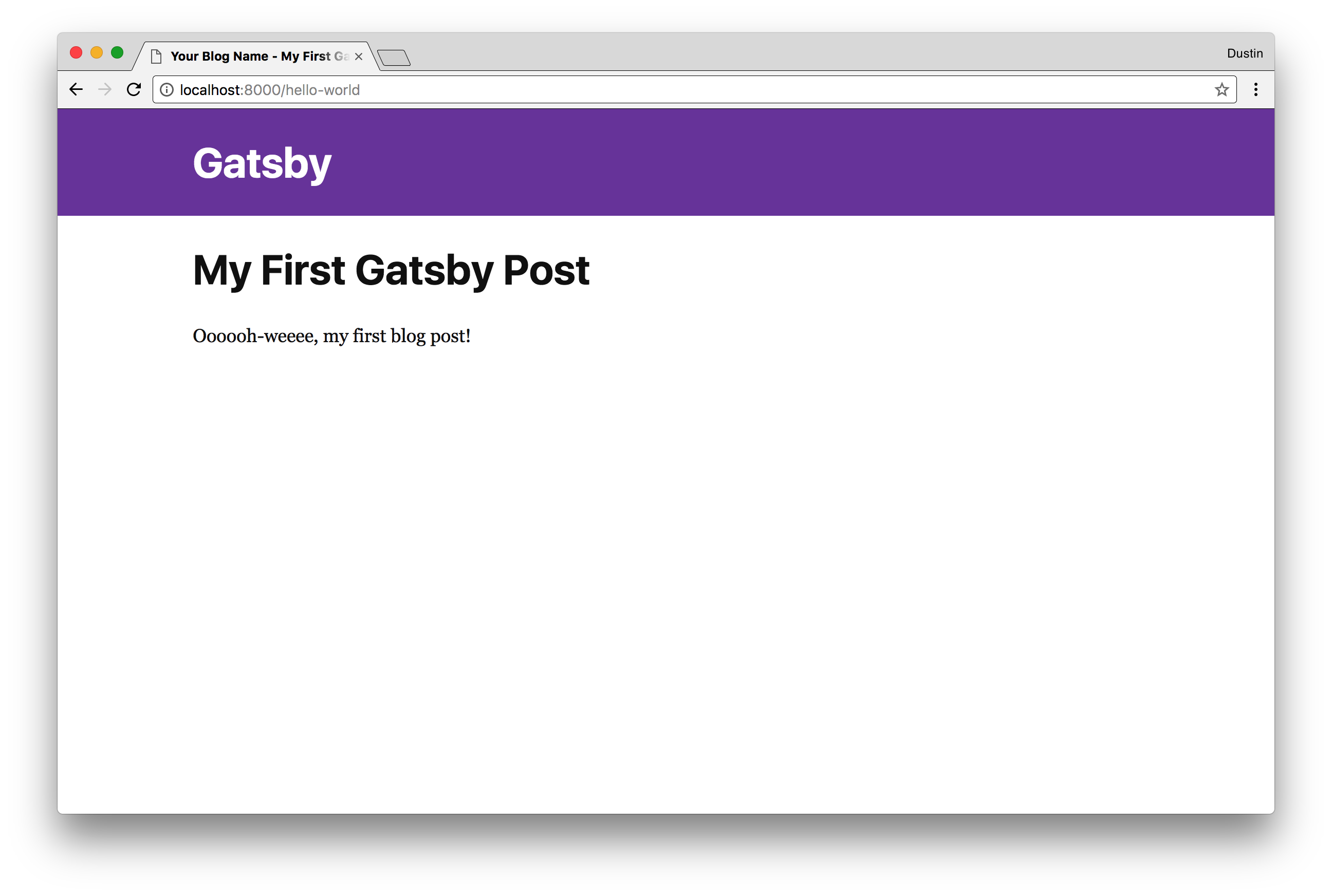 Creating a Static Blog with Gatsby | Object Partners