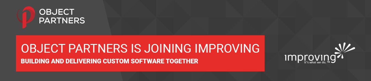 Object Partners is joining Improving!